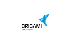 origami 30 Corporate Logos for Your Inspiration