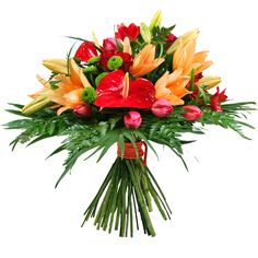 Flores frescas Real entregado UK Entrega gratuita ramo de flores de selección impresionante