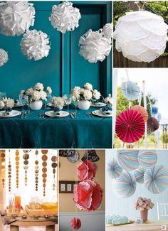 Martha Stewart nous suggère également ces boules multicolores réaliser avec des disques de papier de différentes couleurs, qui ont été pliés puis coller bord à bord. Vous pourrez choisir des lampions accordéon pour un effet similaire. - See more at: http://www.decorationsdemariage.fr/table-decoration-de-salle-et-de-chaise/1519-decoration-de-salle-et-de-chaise-idees-pour-la-decoration-de-salle.html#sthash.SL6zeb1i.G2VsxAg6.dpuf