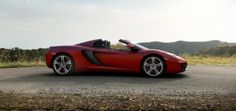 McLaren 12C Spider - The No Compromise Convertible | McLaren Automotive