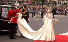 Kate Middleton in abito da sposa