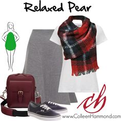 Relaxed Pear 2 by colleen-hammond on Polyvore featuring James Perse, Issa, Aspinal of London and Vans