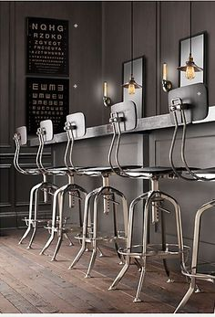 really like these bar stools
