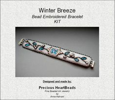 KIT Instructions and materials  Bead by PreciousHeartBeads on Etsy, $49.00
