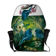 Gorgeous Bluebird Messenger Bag (design by Cherie Roe Dirksen) Gifts For Her, Great Gifts, Laptop Messenger Bags, Designer Bags, Blue Bird, Backpacks, Bag Design, Stuff To Buy, Spiral