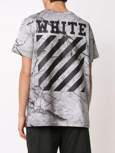 Off-White マーブル柄 Tシャツ
