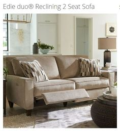 Tricia Power Hybrid Reclining Sofa In 2019 For The Home