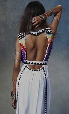 Colors of the Moment Bohemian Dress