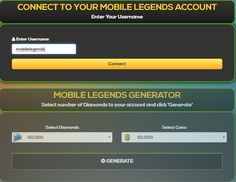 Mobile Legends Hack Generator — Mobile Legends Free Diamonds Mobile Legends Hack 2019 Updated Generator — How to Get Unlimited Diamonds No Survey No Verification Mobile Legends Bang Bang Hack — Get. New Mobile, Mobile Game, Moba Legends, Episode Choose Your Story, Point Hacks, Legend Games, Iphone Mobile, Test Card, Hack Tool