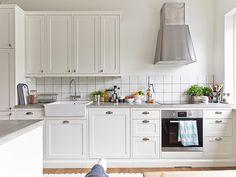 20 charmosas cozinhas escandinavas - limaonagua