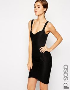 Shopping for a Holiday Party... ASOS TALL Sweetheart Bandage Mini Dress