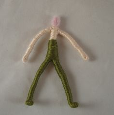 wrapped wire doll tutorial