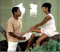 Allen Payne and Jada Pickett Smith in Jason's Lyric