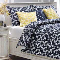 Navy Metro Duvet Set – American Made Dorm & Home