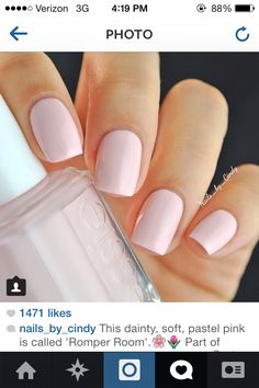 Too opaque for my taste. I'd like to save the colors so that I can see the difference so that I'm not a pain when I go in the nail salon