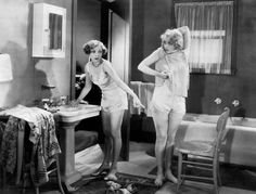 Anita Page and Bessie Love in The Broadway Melody (1929)