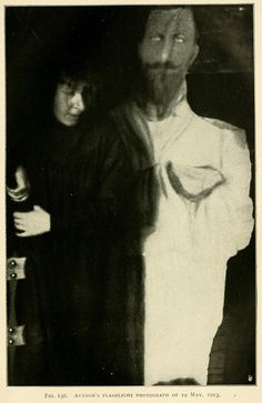 Photographs from a séance with Eva Carrière (1913) | The Public Domain Review