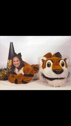 Cheer Pictures, Senior Pictures, Cheer Pics, Fursuit, Mascot Costumes, Mouse Ears, Cosplay, Cute, Painting