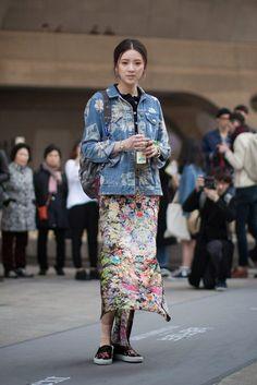 On the street… Irene Kim Seoul fashion week 2014 F/W   echeveau