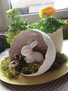 Easter Projects, Easter Crafts, Holiday Crafts, Mermaid Crafts, Easter 2018, Easter Wreaths, Holidays And Events, Seasonal Decor, Happy Easter