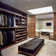 Merveilleux Walk In Closet For Men Masculine Closet Design 11 30 Walk In Closet Ideas  For Men Who Love Their Image