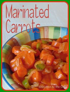 As carrots are so plentiful and inexpensive this time of the year, Marinated Carrots are a great way to use up excess harvest or grocery . Carrot Salad Recipes, Veggie Recipes, Cooking Recipes, Healthy Recipes, Healthy Salads, Easy Cooking, Easy Recipes, Canned Carrots, Pickled Carrots