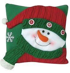 *** Xmas, Christmas Ornaments, Christmas Pillow, Jingle Bells, Christmas Projects, Pillow Covers, Hobbit, Crochet Hats, Pillows