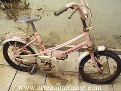 ARTESANATO COM QUIANE - Paps,Moldes,E.V.A,Feltro,Costuras,Fofuchas 3D: Bicicleta Caloi Cecizinha Rosa