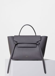 Celine Mini Belt Bag - Grey Grained Calfskin (£1550)