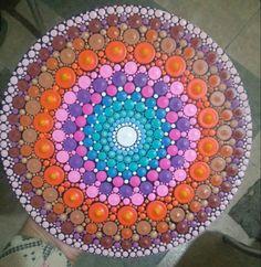 Natalia Richetti #mandala #chakra #color #mandalas #art #arte #artmandala #dot #dotillism #meditacion #meditacionactiva #zen #Paint