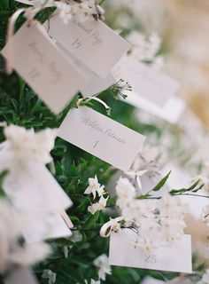 Unique Escort Card Display | photography by http://www.josevillaphoto.com/