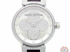 ルイヴィトン時計 タンブール フォーエバー Q131P ラグダイヤ 12Pダイヤ