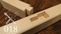 Joint Venture Ep. 18: Blind housed dovetail (Western / Japanese Joinery)