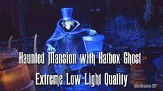 [Extreme Low Light Quality] FULL Haunted Mansion with Hatbox Ghost Ride-...