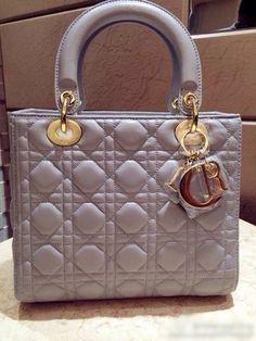 Lady Dior Tote Bag Original Smooth Lambskin Leather 204eb9902418e
