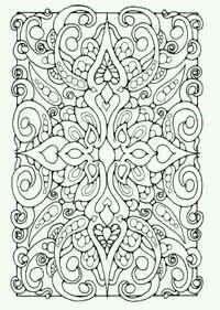Coloring Pages For Grown Ups Book Sheets Doodle Mandala Abstract Zen Colors