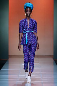 DYNAMIC AFRICA - Bongiwe Walaza's 2013 Collection Re-Fashions A New...