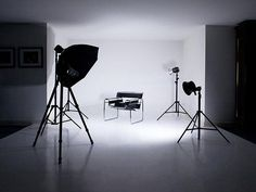 How to turn a basement, garage or spare bedroom into a functional photography space