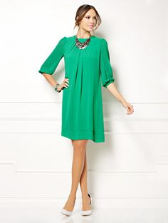 Shop Eva Mendes Collection - Sabrina Dress - Solid. Find your perfect size online at the best price at New York & Company.