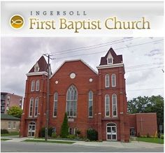 Baptist Church in Ingersoll Ontario Woodstock, Ontario, Canada, Weddings, Mansions, Cool Stuff, House Styles, Places, Mansion Houses
