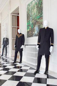 The London Cut: Paris Exhibition // Dege & Skinner Evening Dress Shirwani tailored for HM the Sultan of Oman.