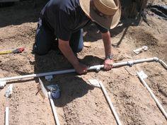 Cómo armar un sistema de riego por goteo con tuberías de pvc.