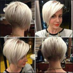 Tolle Kurzhaarfrisuren für Frauen, die sich trauen sich von anderen zu unterscheiden | Einfache Frisuren