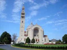 Basilica of the National Shrine of the Immaculate Conception - Washington-DC