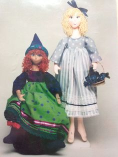 Ginger Snaps doll pattern #8840