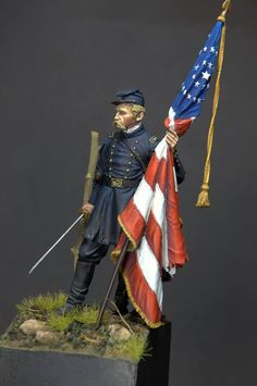 Civil War Art, Civil Wars, Gettysburg, Figure Model, Us History, Toy Soldiers, American Civil War, Military Art, Figurative Art
