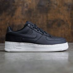 Nike Men Nikelab Air Force 1 Low (black / black-black-sail)