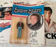 Rare-ERTL-Super-Stars-Diecast-Figure-Fall-Guy-Lee-Majors-Carded