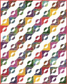 Candy Strip - Free Quilt Pattern - Layer Cake