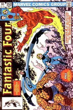 Fantastic Four # 252 by John Byrne